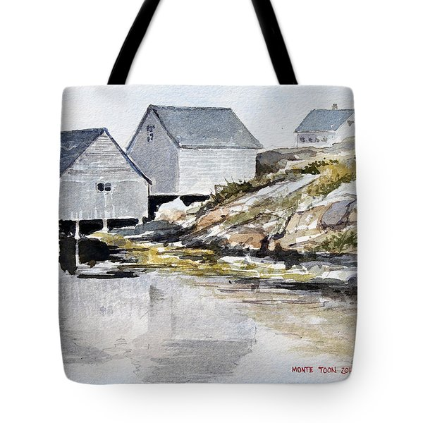 Rocky Inlet Tote Bag
