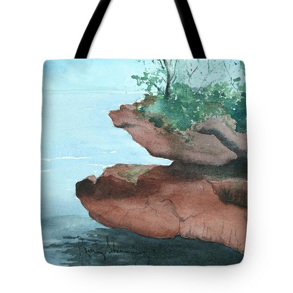 Rocky Ledge Tote Bag
