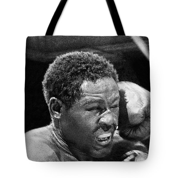 Rocky Marciano Fist Tote Bag by Underwood Archives