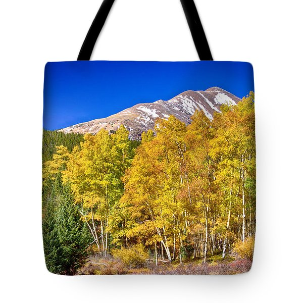 Rocky Mountain Autumn Bonanza Tote Bag by James BO  Insogna