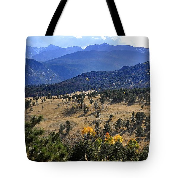 Tote Bag featuring the photograph Rocky Mountain Evening by Nava Thompson