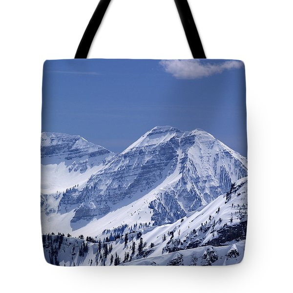 Rocky Mountain High Tote Bag by Bill Gallagher