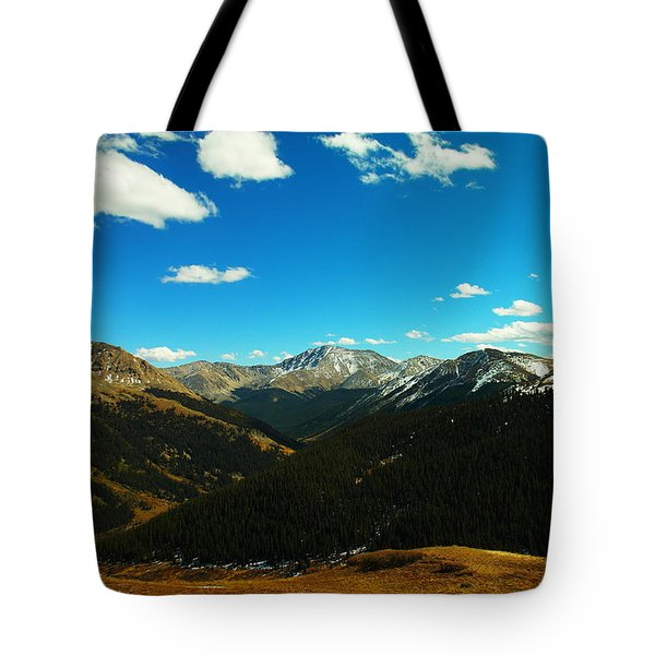 Rocky Mountain High Colorado Tote Bag