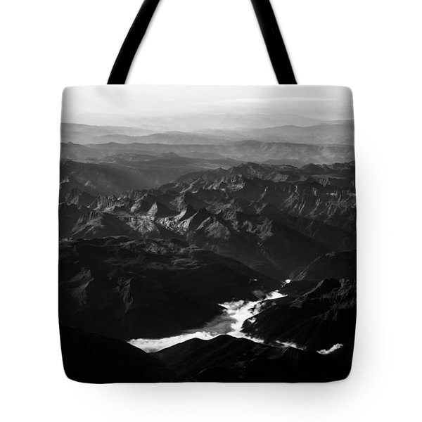 Rocky Mountain Morning Tote Bag by John Daly