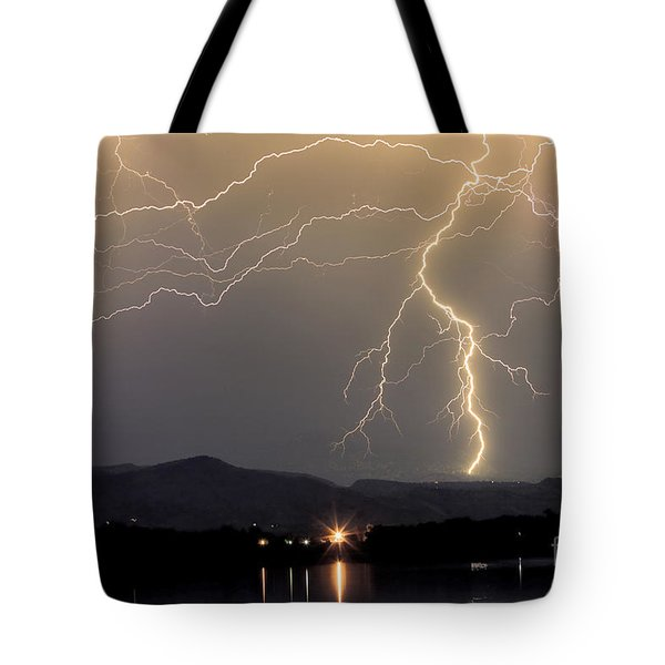 Rocky Mountain Thunderstorm  Tote Bag by James BO  Insogna