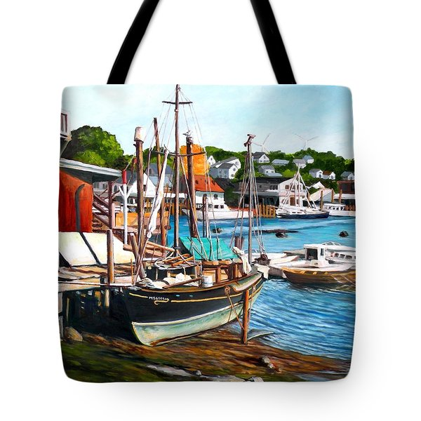 Rocky Neck October Tote Bag