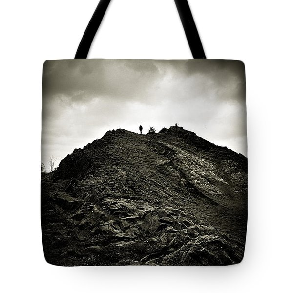 Rocky Pathway To Scotland Tote Bag