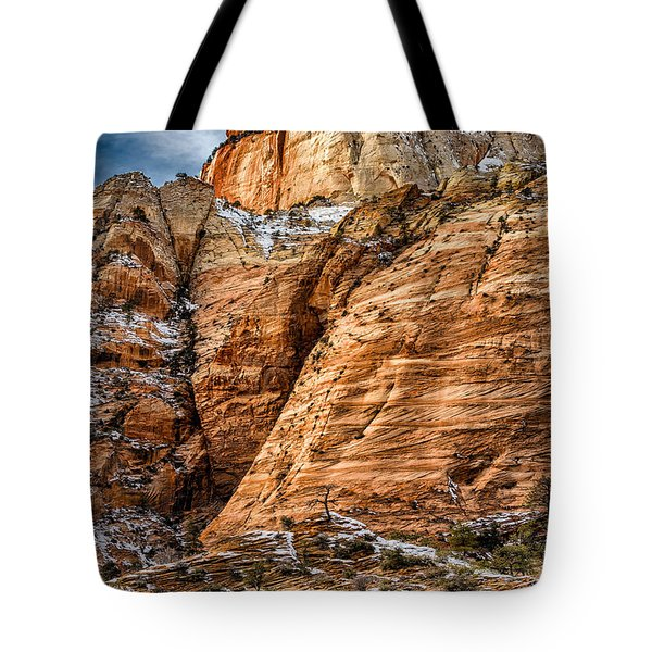 Rocky Peak Tote Bag by Christopher Holmes