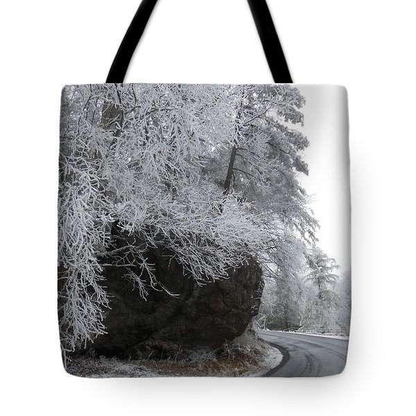 Rocky Road On Ice Tote Bag