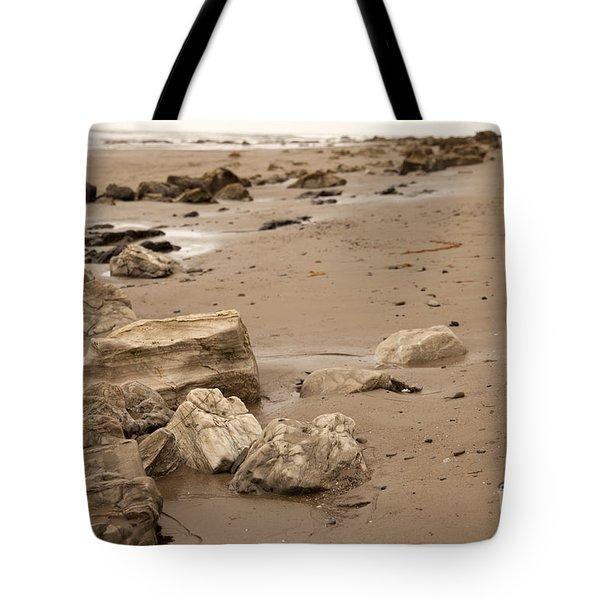 Rocky Shore Tote Bag by Amanda Barcon