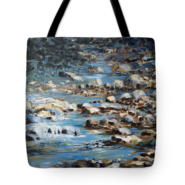 Rocky Shore Tote Bag by Joanne Smoley