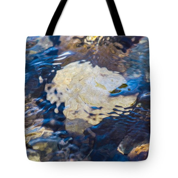 Rocky Waters Tote Bag by Omaste Witkowski