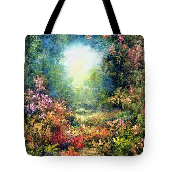 Rococo Delight Tote Bag by Hannibal Mane