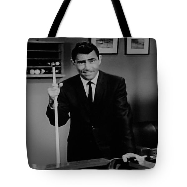 Rod Serling Tote Bag by Rob Hans