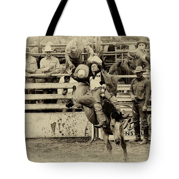 Rodeo Every Move He Makes Tote Bag