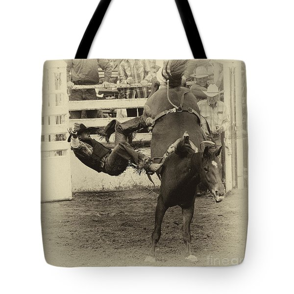 Rodeo Learning To Fly Tote Bag