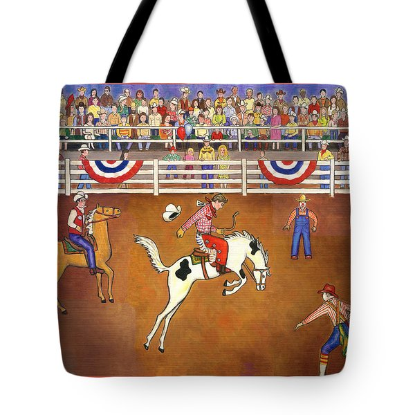 Rodeo One Tote Bag by Linda Mears