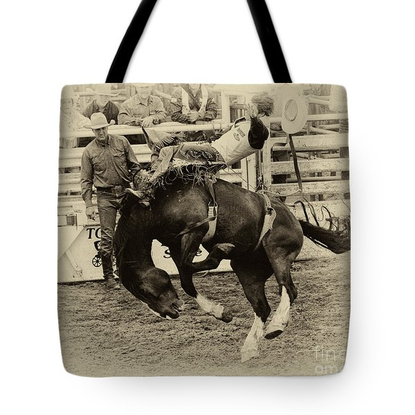 Rodeo Rocket Man Tote Bag
