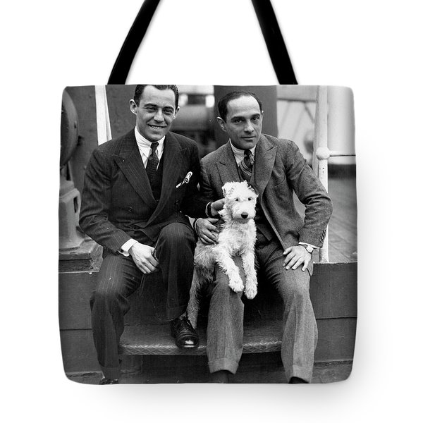 Tote Bag featuring the photograph Rodgers And Hart by Granger