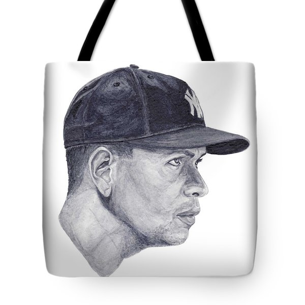 Tote Bag featuring the painting Rodriguez by Tamir Barkan
