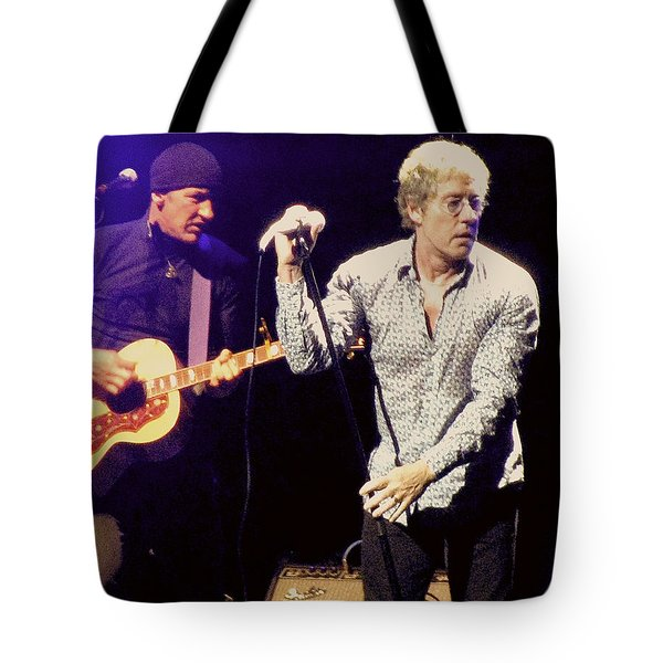 Roger Daltrey And The Who Tote Bag
