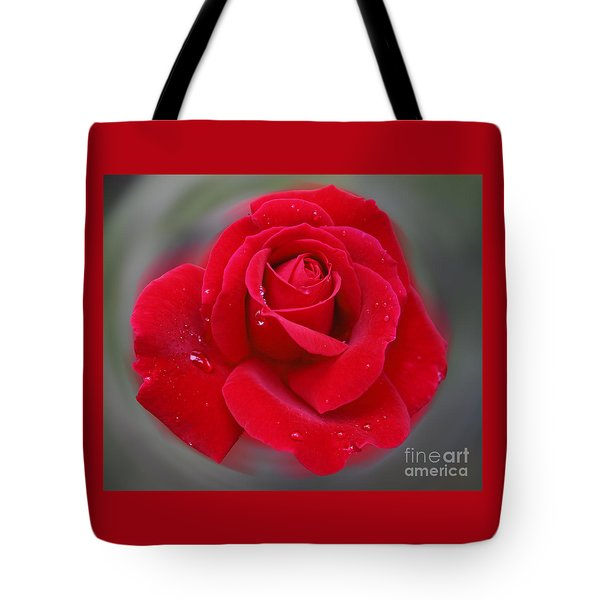 Rolands Rose Tote Bag
