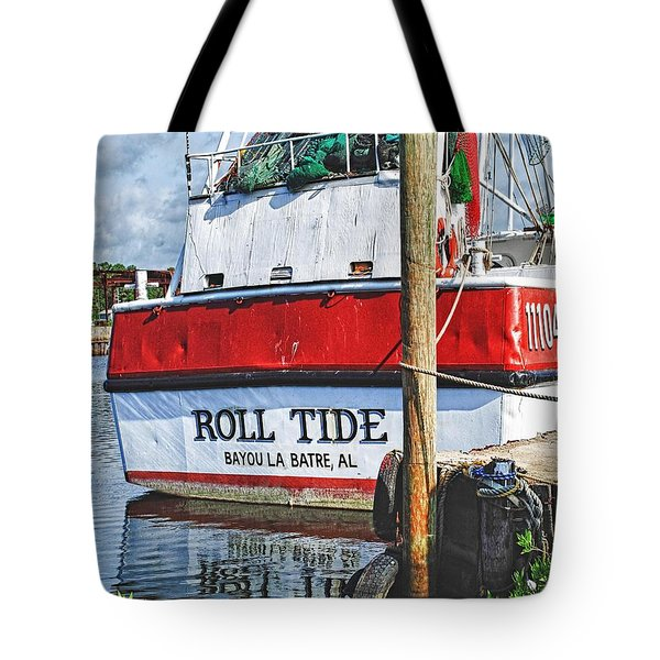 Roll Tide Stern Tote Bag