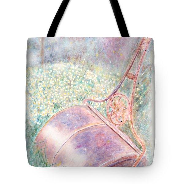 Tote Bag featuring the digital art Roller by Arthur Eggers