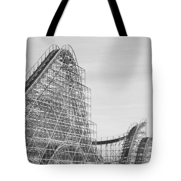 Roller Coaster Wildwood Tote Bag