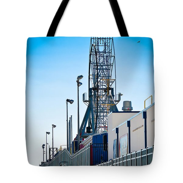 Rollercoaster Tote Bag by Trish Tritz