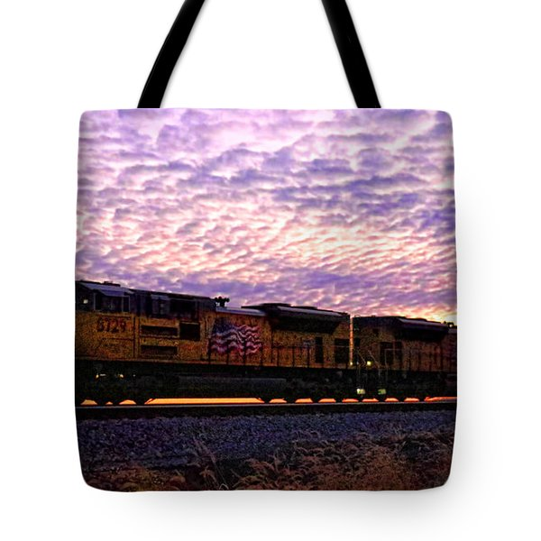 Tote Bag featuring the photograph Rollin' Around The Bend by Jaki Miller