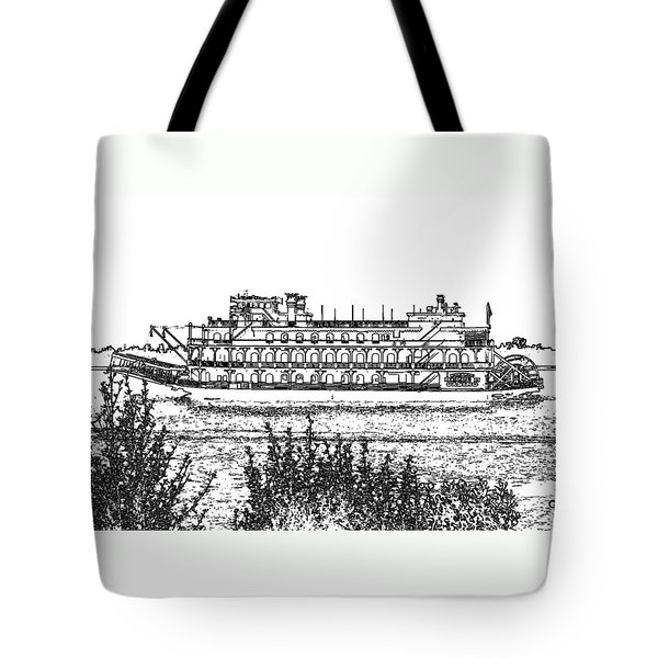 Rollin Down The River Tote Bag by John Freidenberg