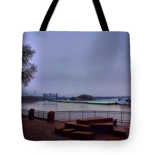 Tote Bag featuring the photograph Rollin Onna River by Robert McCubbin