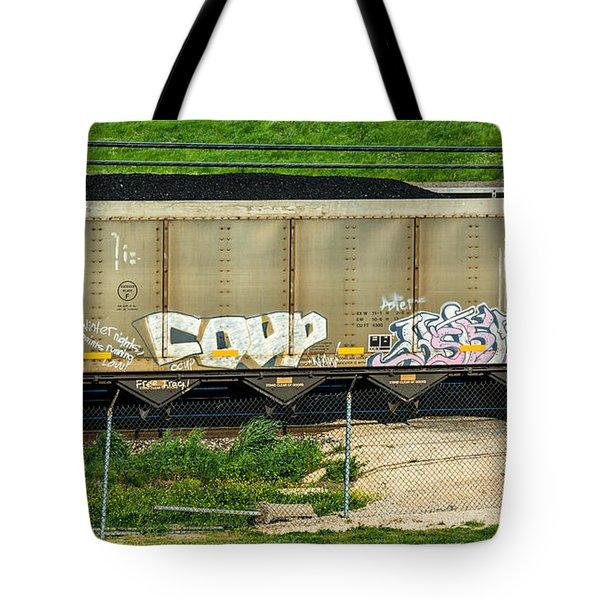 Rolling Art Tote Bag by Steve Harrington