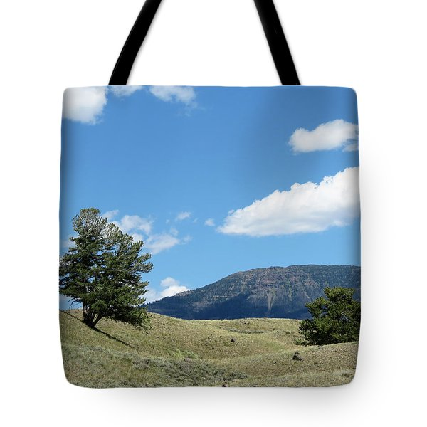Rolling Hills Tote Bag by Laurel Powell