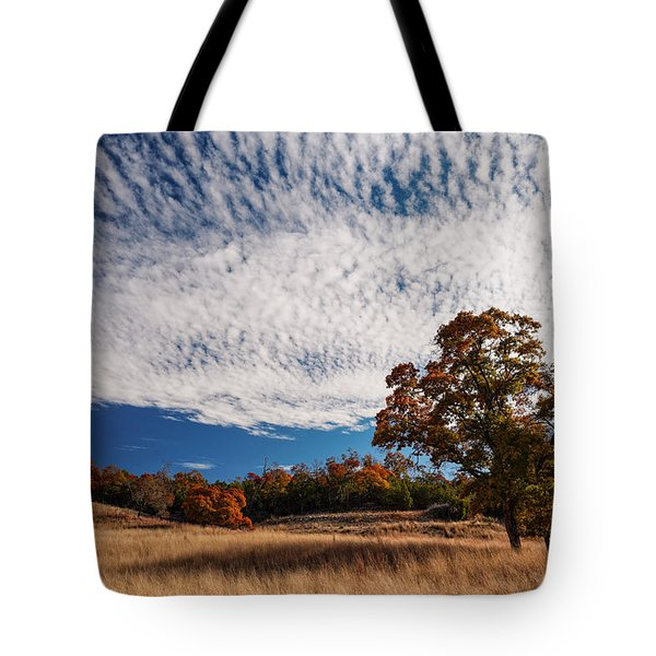 Rolling Hills Of The Texas Hill Country In The Fall - Fredericksburg Texas Tote Bag