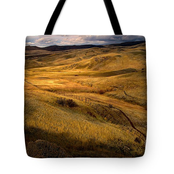 Rolling Hills Tote Bag by Robert Bales