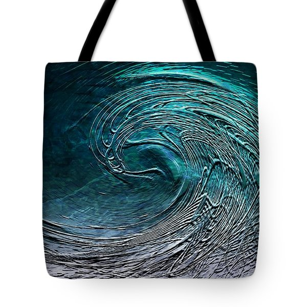 Rolling In The Deep Tote Bag by Barbara Chichester