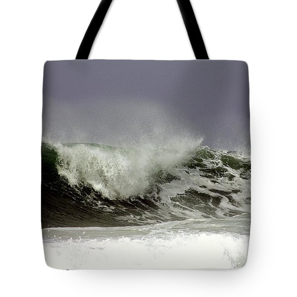 Rolling In The Deep Tote Bag by Debra Forand