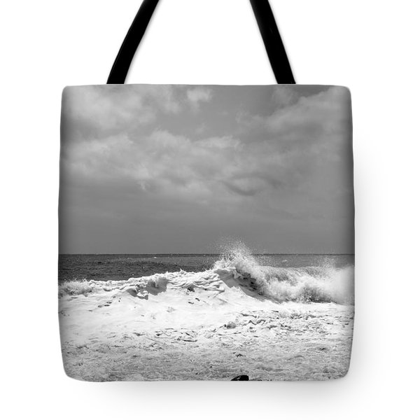 Rolling Surf  Tote Bag