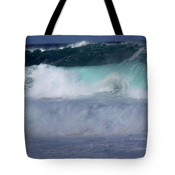 Rolling Thunder Tote Bag by Karen Wiles