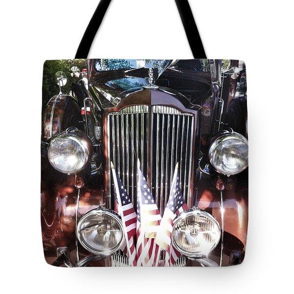 Rolls Royce Car  Tote Bag by Susan Garren