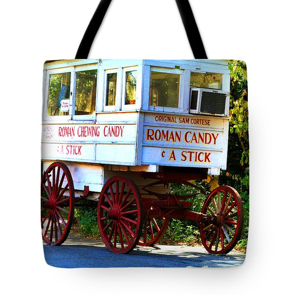 Roman Candy Tote Bag