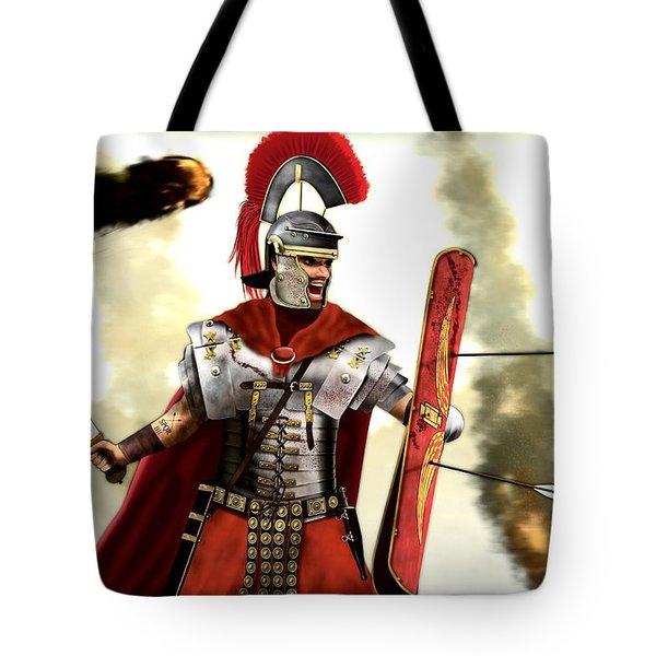 Roman Centurion Tote Bag by John Wills