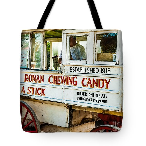 Roman Chewing Candy Nola Tote Bag by Kathleen K Parker