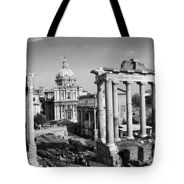Roman Forum Tote Bag by Eva Kaufman