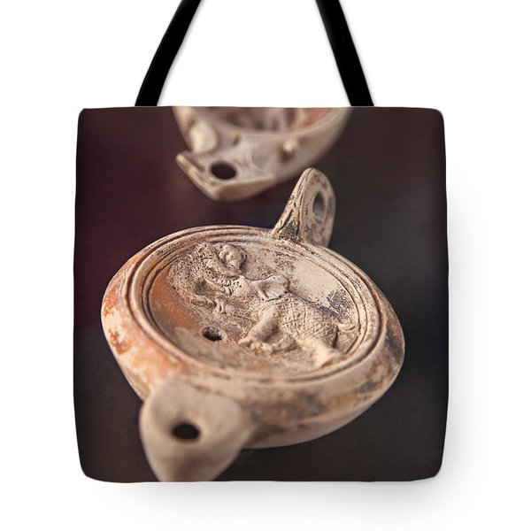 Roman Oil Lamp Tote Bag by Sophie McAulay