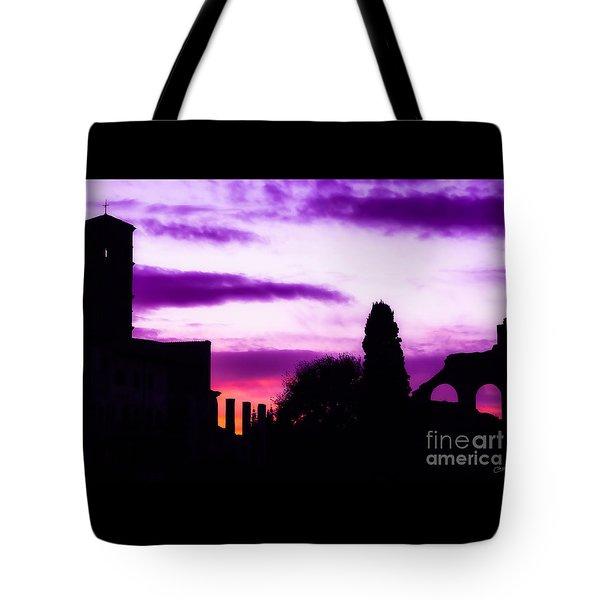 Roman Sunrise Tote Bag