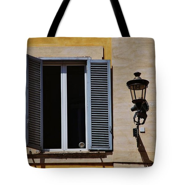 Roman Window Tote Bag by Dany Lison