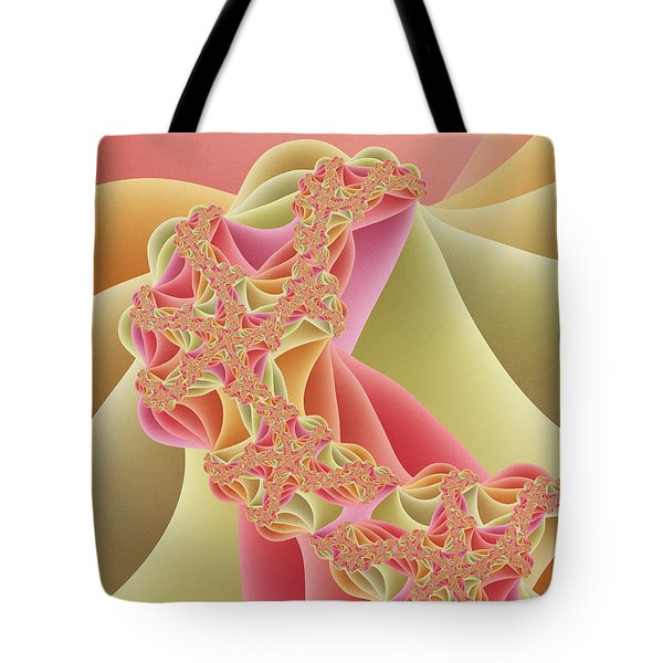 Tote Bag featuring the digital art Romance by Gabiw Art
